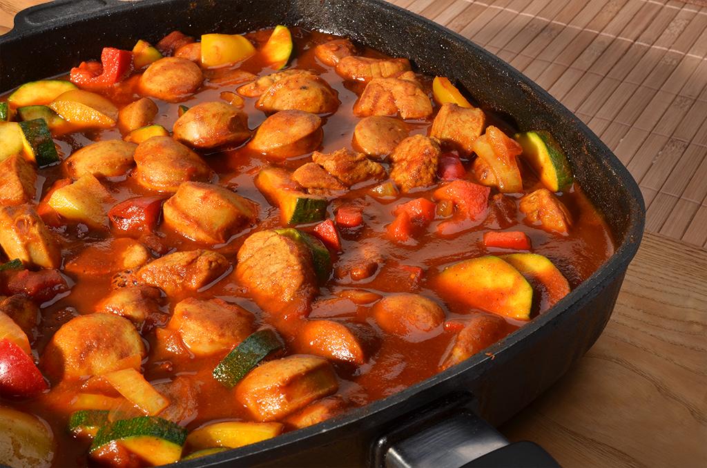 Currywurstgulasch