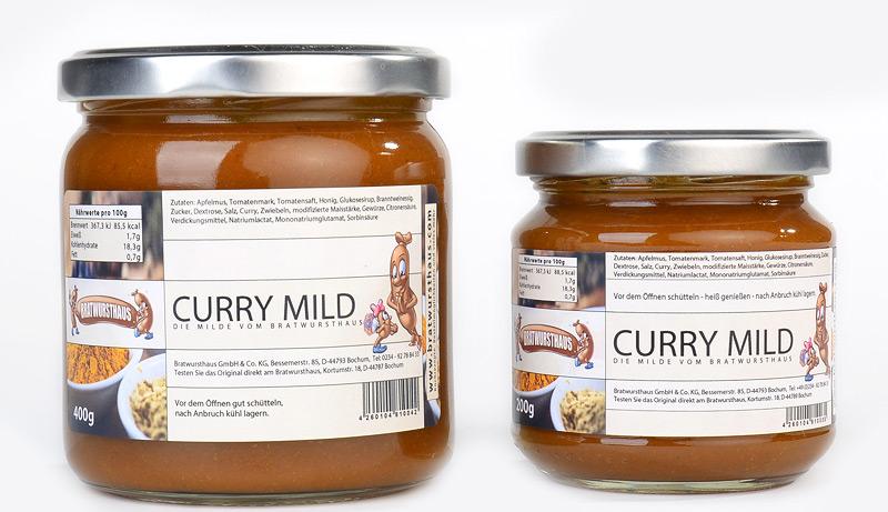 unsere neue milde currysauce. Black Bedroom Furniture Sets. Home Design Ideas
