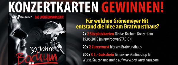 Grönemeyer Gewinnspiel