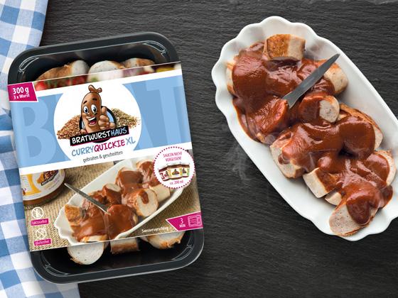 Der Curryquickie - die original Bochumer Currywurst für die Mikrowelle